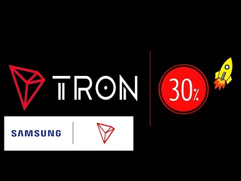 tron coin  trx price prediction 2020 | 30% price rising | partnership with Samsung | LiveDayTrader