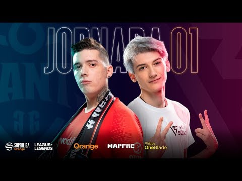 VODAFONE GIANTS VS BCN SQUAD | Superliga Orange League of Legends |Jornada 1 | Temporada 2020