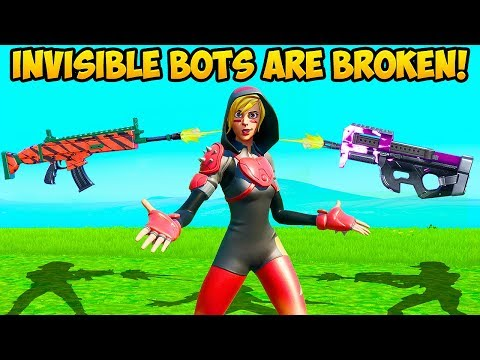 *WTF* BOTS ARE INVISIBLE NOW?! – Fortnite Funny Fails and WTF Moments! #812
