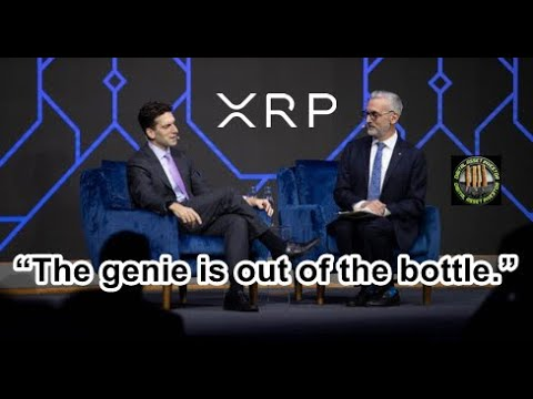 """DTCC, XRP Liquidity All Time High And Ripple GC: """"Genie Is Out Of The Bottle"""""""