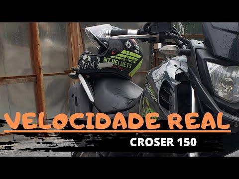 XTZ crosser 150 velocidade real