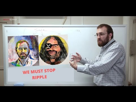 Ripple XRP: Charles Hoskinson Head of Cardano (ADA) Ripple Must Be Stopped !!