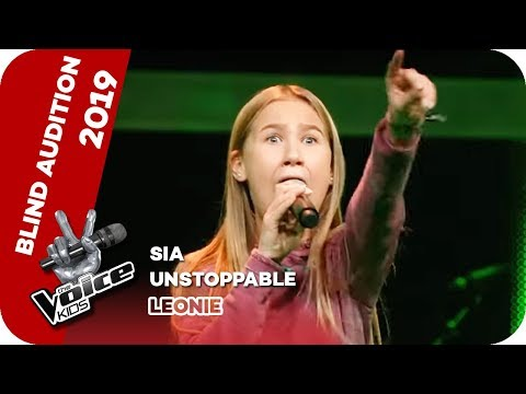 Sia – Unstoppable (Leonie) | Blind Auditions | The Voice Kids 2019 | SAT.1