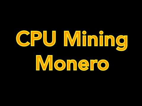 Raspberry Pi CPU Mining Monero Cryptocurrency