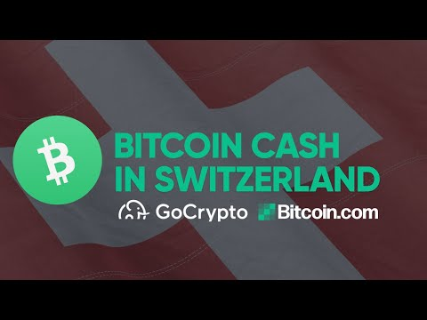 Bitcoin Cash Merchants popping up rapidly in Switzerland