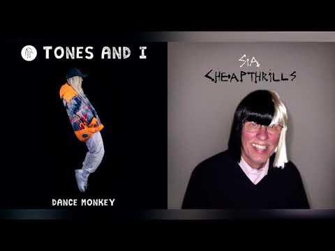 Sia & Tones And I – Thrilled Monkey (Mashup)