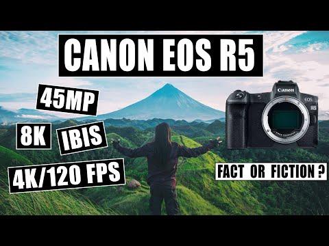 Canon EOS R5 45MP 8K IBIS Fact or Fiction?