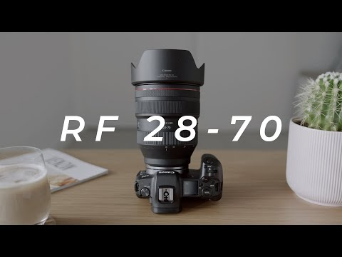 CANON RF 28-70 F2 REVIEW | BTS Photoshoot on the EOS R