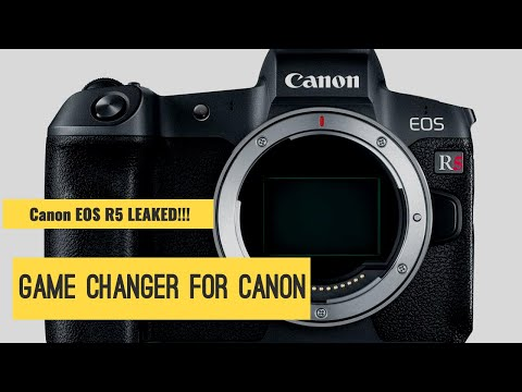 Canon EOS R5 Camera LEAK! HUGE news for Canon