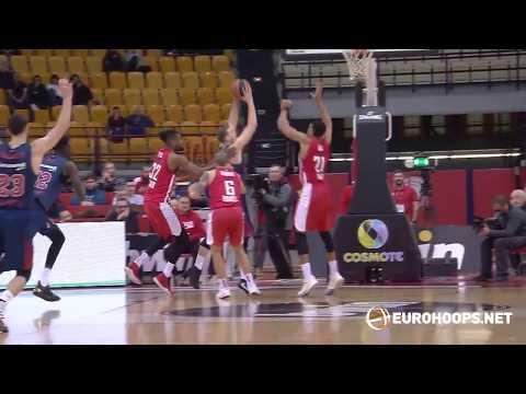 Olympiacos Piraeus – KIROLBET Baskonia Vitoria-Gasteiz 80-70: Augustine Rubit (19 points)