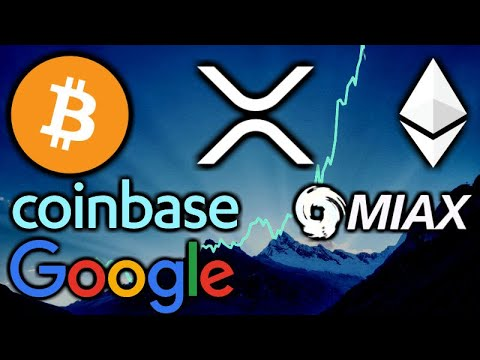 The CRYPTO ASSET CLASS IS RISING – Coinbase Google – Swiss Bank Julius Baer Crypto – Bitcoin ETH XRP
