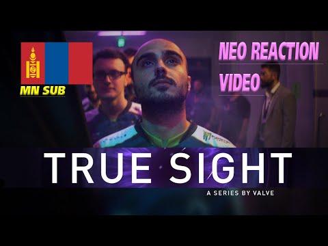 True sight Монгол хадмал   Neo Reaction video !