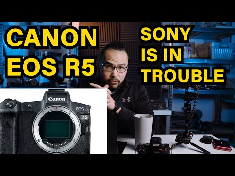 CANON EOS R5 RUMORED 8k 4k120fps – WHAT WILL SONY DO ??? #canoneosr5 #canonr5 #sonya7siii