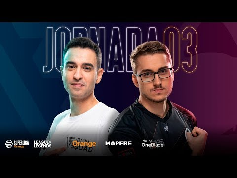 BCN SQUAD VS X6TENCE | Superliga Orange League of Legends |Jornada 3 | Temporada 2020
