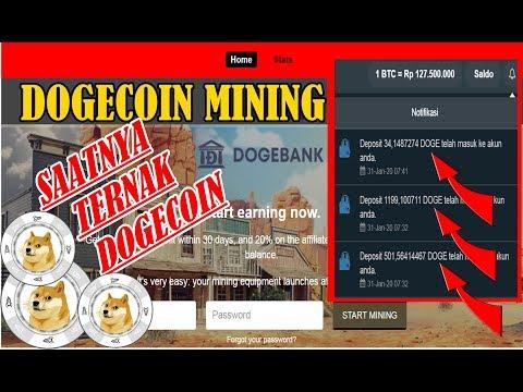 DOGECOIN MINING II WEBSITE MINING DOGECOIN LEGIT II 31 JANUARI 2020