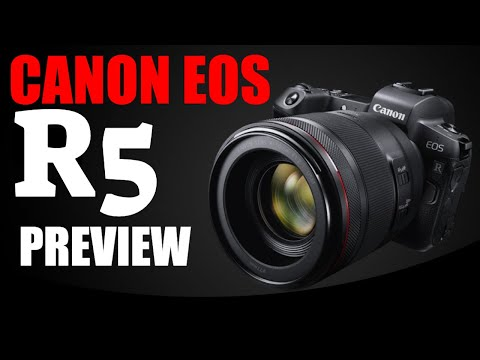 Canon EOS R5 or EOS RS – These ARE the specifications!