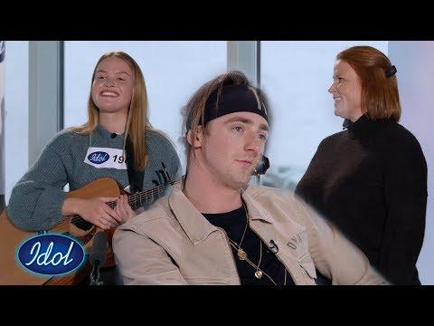 TIX blir så imponert over Maris audition at han henter moren hennes!  | Idol Norge 2020