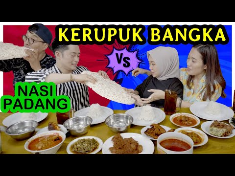 GILA!! Orang Korea kaget makan kerupuk BIG SIZE! cuma ada di Indonesia!! ft Duo Pengacara