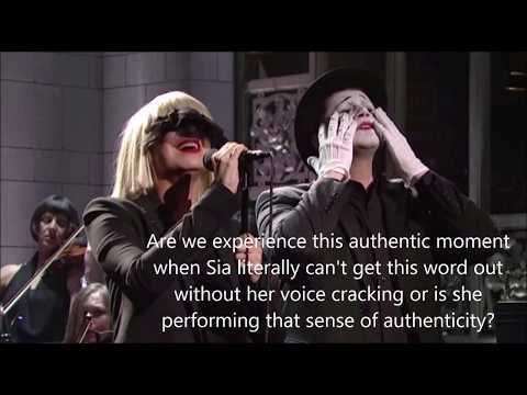 Sia's vocal timbre in Chandelier analyzed by musicians