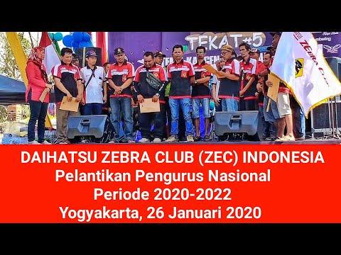 Daihatsu Zebra Club (ZEC) – Pelantikan Pengurus Nasional Periode 2020-2022