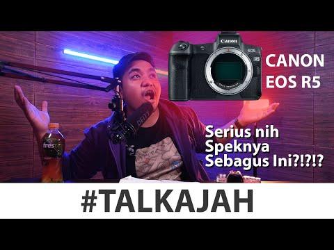 Video 8K ?? Canon Serius Apa Halu Nih?? EOS R5 #TalkAjah