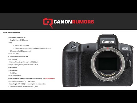 🔴 Canon EOS R5: EXPECTATIONS vs REALITY: 8K30p 4K120p 4K60p and IBIS