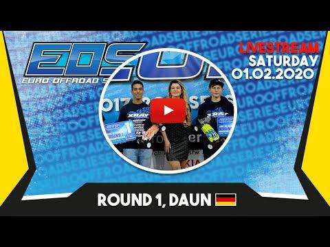 EOS Live Stream Round 1, Daun – Saturday 01.02.2020