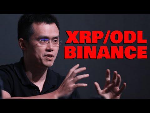 NEW Evidence Binance is Already Adopting XRP/ODL & Is MASSIVE Liquidity Pool