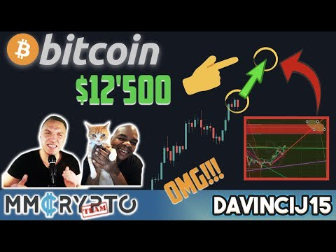 OMG!!! BITCOIN Chart NOONE is Looking at NOW Shows CRAZY PUMP to $12'500 EXACTLY at… w. DavinciJ15