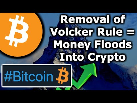 TONS Of MONEY Can Enter Crypto Market With Fed Loosening Volcker Rule – Bitcoin Twitter Emoji