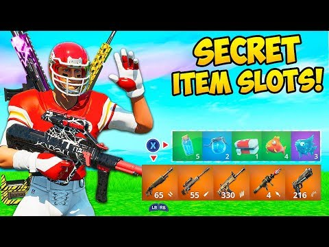 *SECRET* INVENTORY SLOTS ARE BROKEN!! – Fortnite Funny Fails and WTF Moments! #814