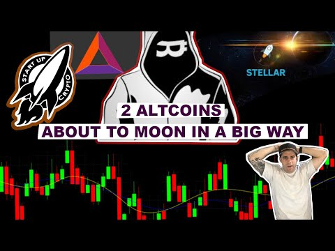 2 ALTCOINS THAT ARE ABOUT TO MOON IN A BIG WAY (BAT & XLM)