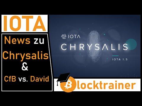 IOTA News – Was ist Chrysalis & Streit zwischen CfB und David