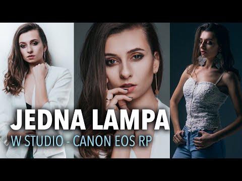 JEDNA LAMPA BŁYSKOWA w studio | Canon EOS RP