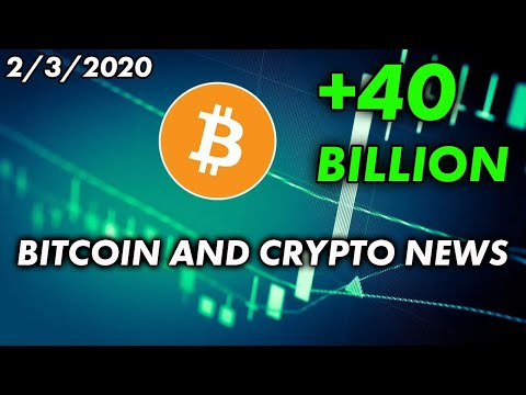 Bitcoin & Cryptocurrency News 2/3/2020