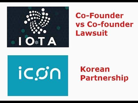 IOTA co-founder lawsuit, ICX Korean Partnerships, Line Crypto launch, livestream recap