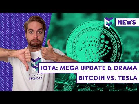 Bitcoin, Tesla, und der IOTA Knall: Zwischen Kurs Rakete, Mega Updates und einer Schlammschlacht