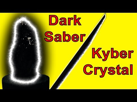 Dark Saber Kyber Crystal Mini-DIY (How-to)