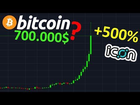 BITCOIN À 700.000$ – ICX +500% BOUM !? btc analyse technique crypto monnaie