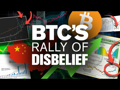 BTC's Disbelief Stage NOW!? The Surge Is Coming! Why?