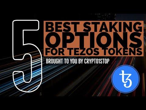 TEZOS STAKING 🎙️ TOP 5 Staking Options, Learn to Stake Tezos on Ledger Nano S, Tezos Dominating STOs
