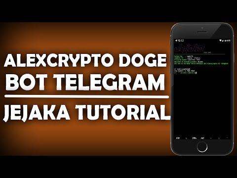 AlexCrypto Doge Penghasil Doge | Bot Telegram