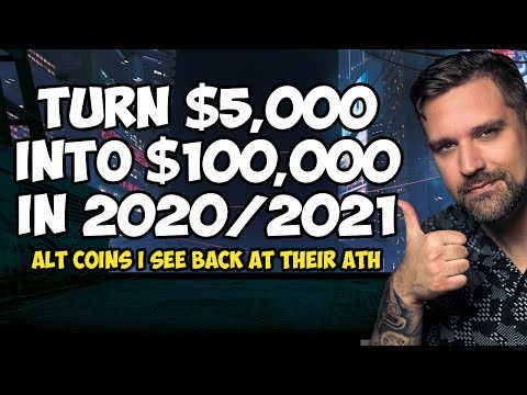 Turn $5,000 into $100,000 in 2020/2021 in Cryptocurrency Investing?