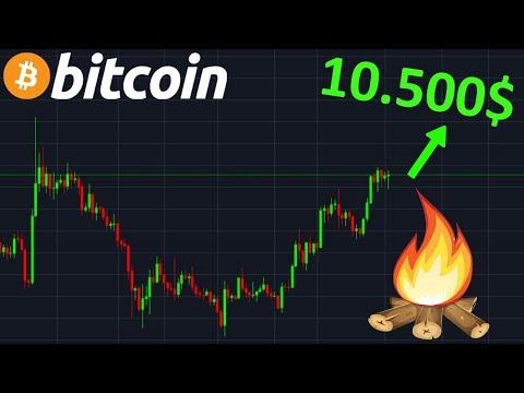 BITCOIN 10.500$ EN APPROCHE !? btc analyse technique crypto monnaie
