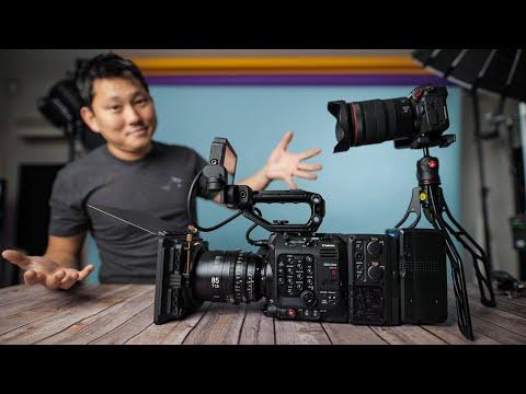 Canon C500 mkii ($15,999) vs Canon EOS R ($1,799)
