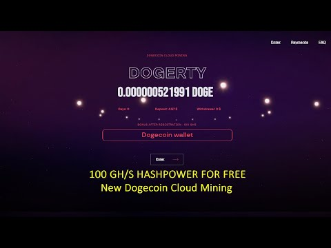 Dogerty | Dogecoin Cloud Mining – Reviews?