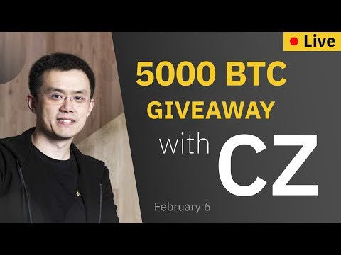 🔴 Binance Live: Bitcoin price prediction & BTC АirDrоp by CZ [February 6, 2020]