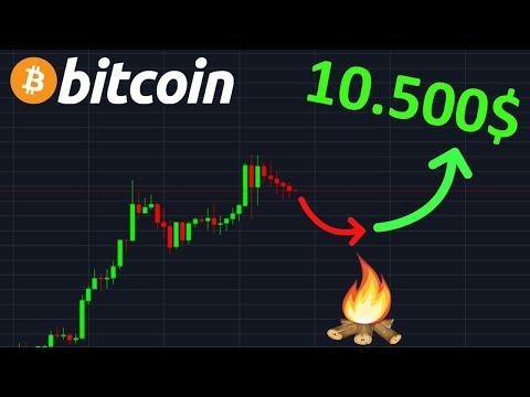 BITCOIN 10.500$ TOUJOURS EN VUEEEEE !? btc analyse technique crypto monnaie