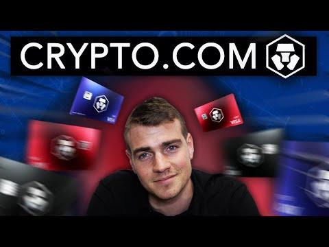 Carte bleue VISA Crypto.com  Euro, Crypto, FIAT | MCO CRO