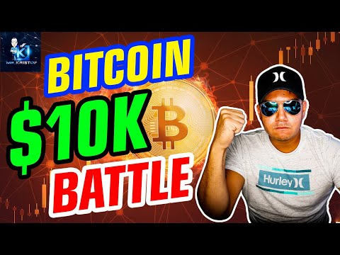 Bitcoins EPIC $10,000 battle! NEW HIGHS COMING FOR BITCOIN! SEC gives crypto boost!